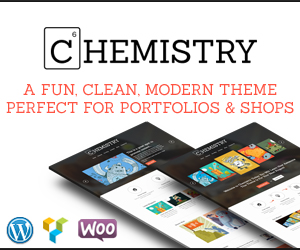 chemistry wordpress theme